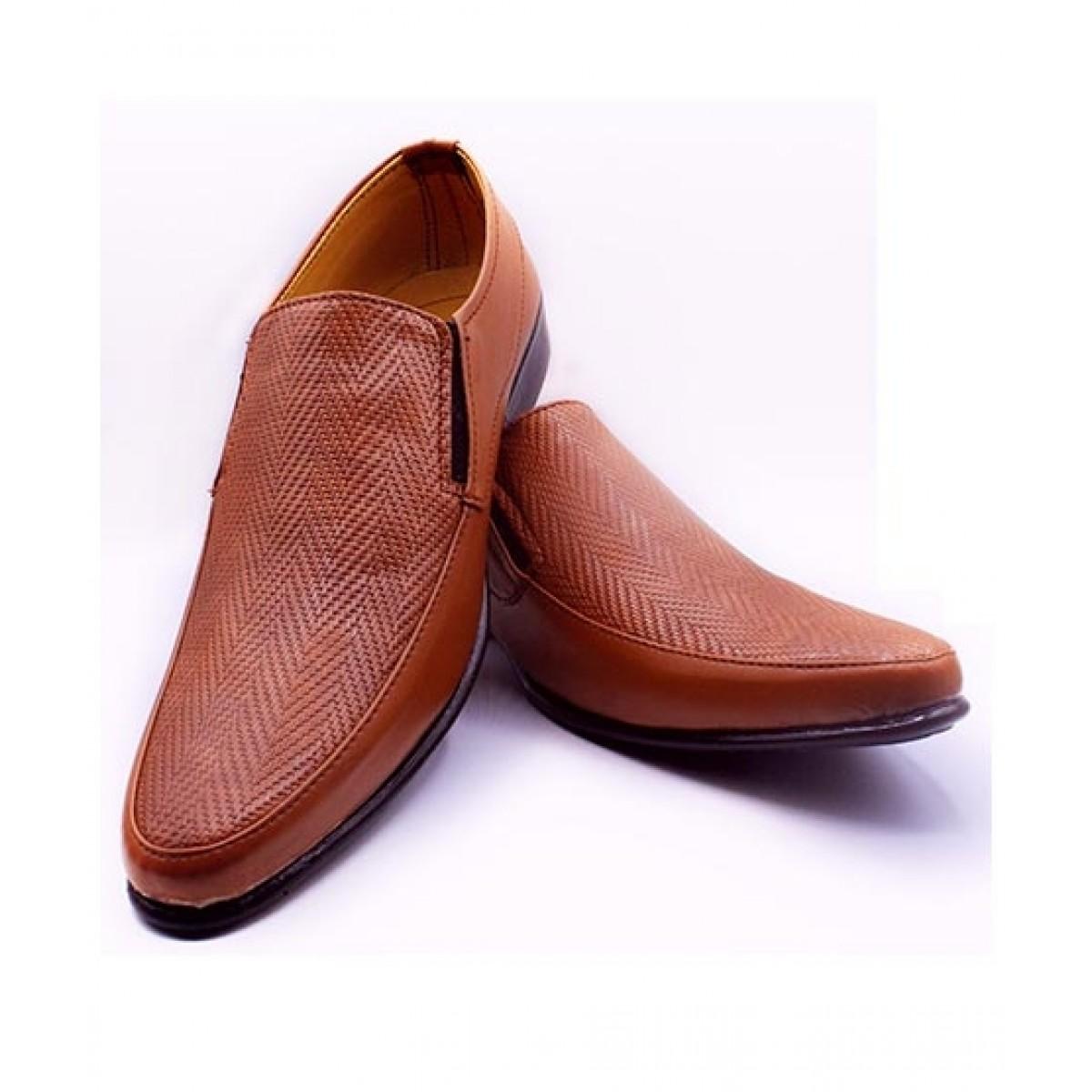 MOZAX Formal Shoes For Men Brown (BR-0008)