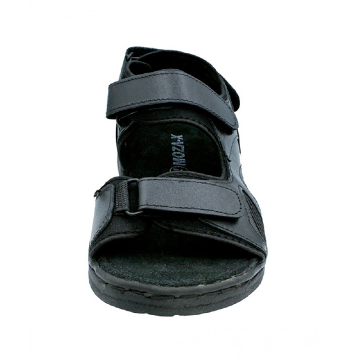MOZAX Casual Leather Sandal For Men Black (0002)