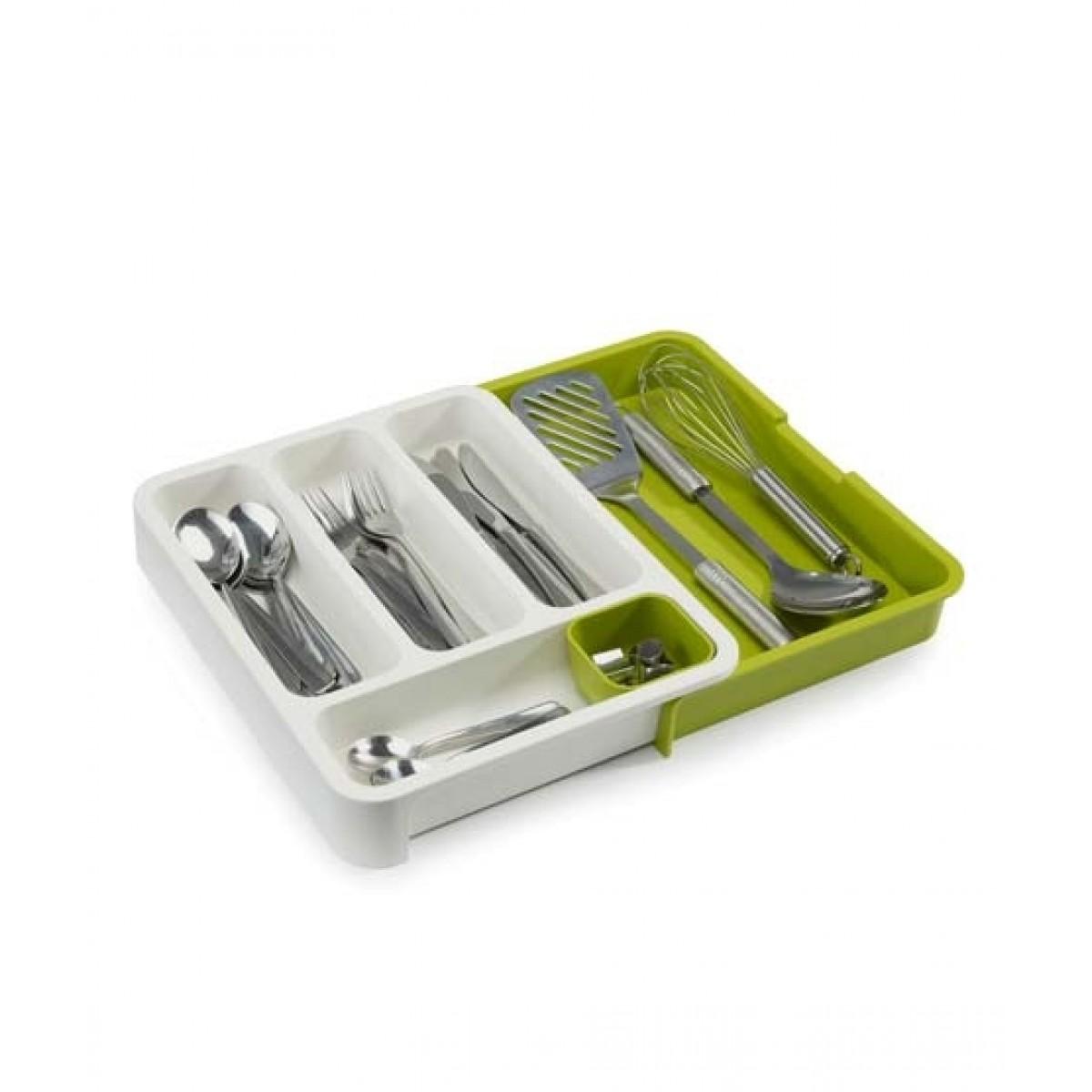 Muzamil Store Expandable Cutlery Tray