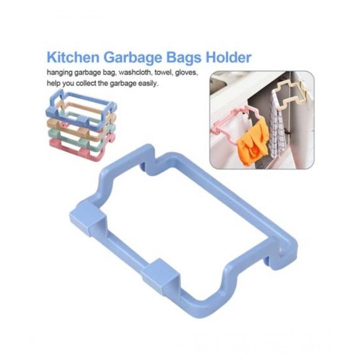Muzamil Store Plastic Garbage Bag Shelf