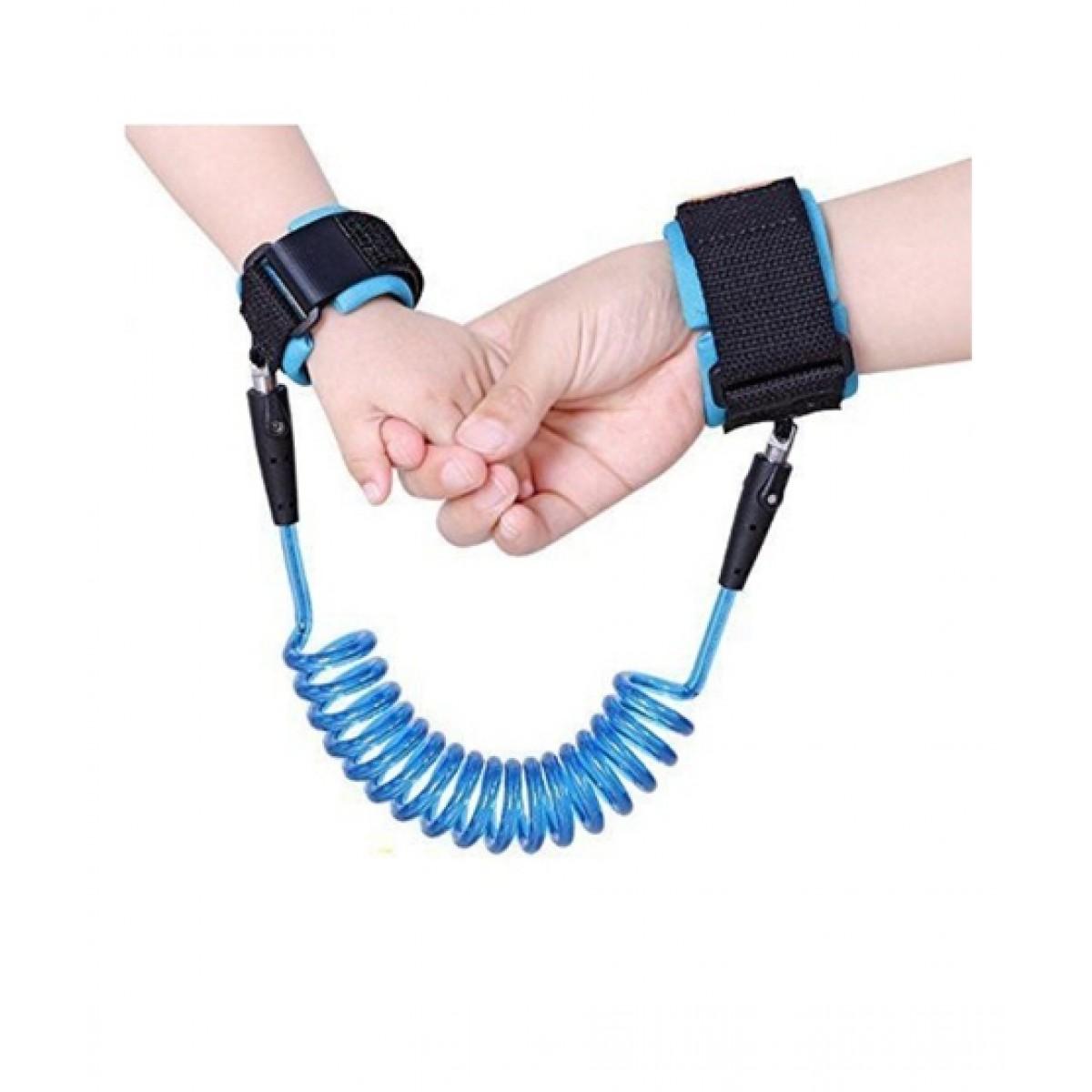 Muzamil Store Anti Lost Wrist Safety Strap Bracelet Blue