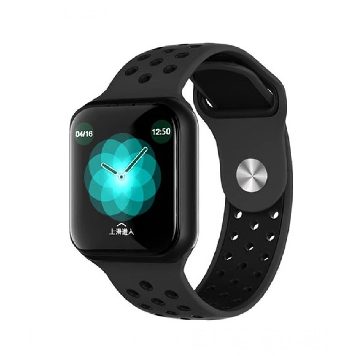 Muzamil Store F8 Smart Fitness Watch Black