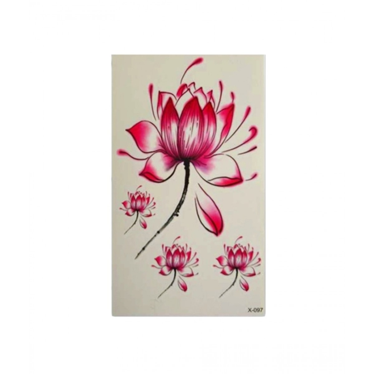 dcd6e6881 Lotus Flower Temporary Tattoo Sticker Price in Pakistan | Buy Muzamil Store Lotus  Flower Temporary Tattoo Sticker | iShopping.pk