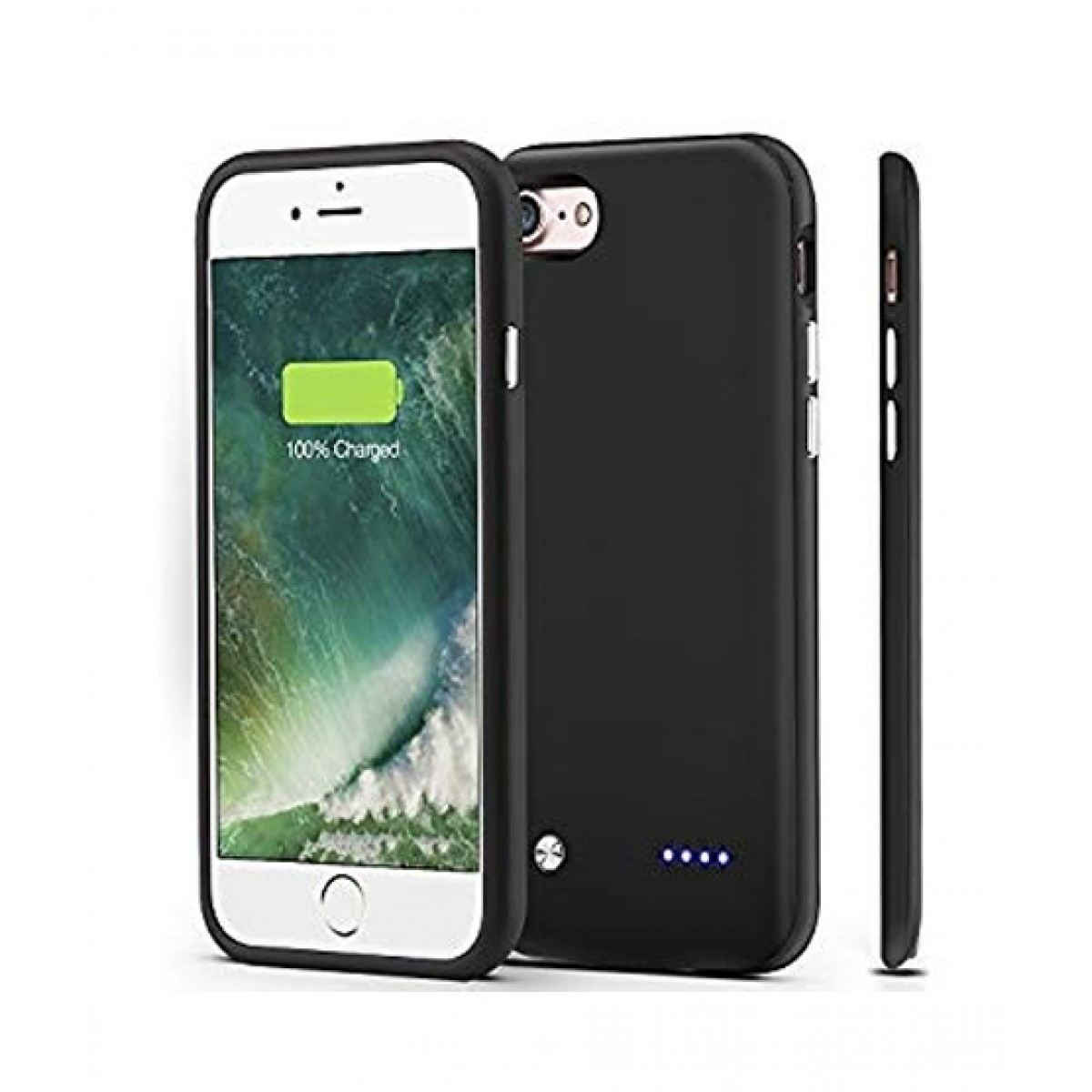 MZ 3000mAh Battery Case For iPhone 7 - Black