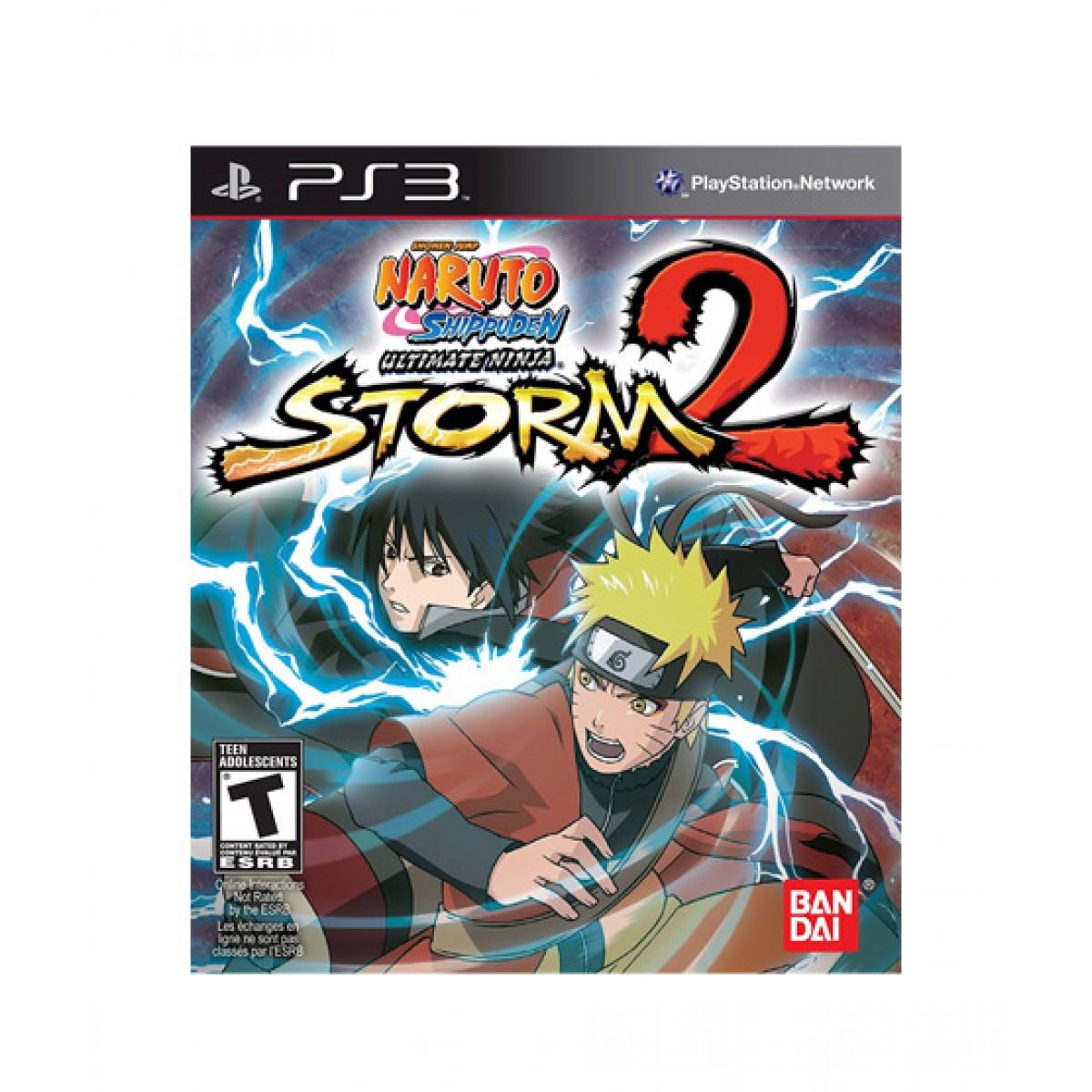 Naruto Shippuden: Ultimate Ninja Storm 2 Game For PS3