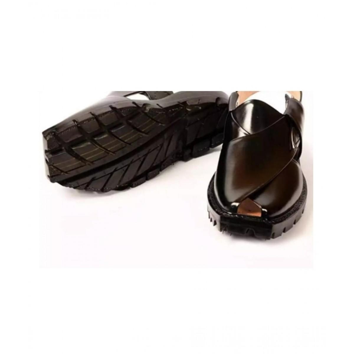 Nawabi Juta Norozi Sandal For Men Black (0010)