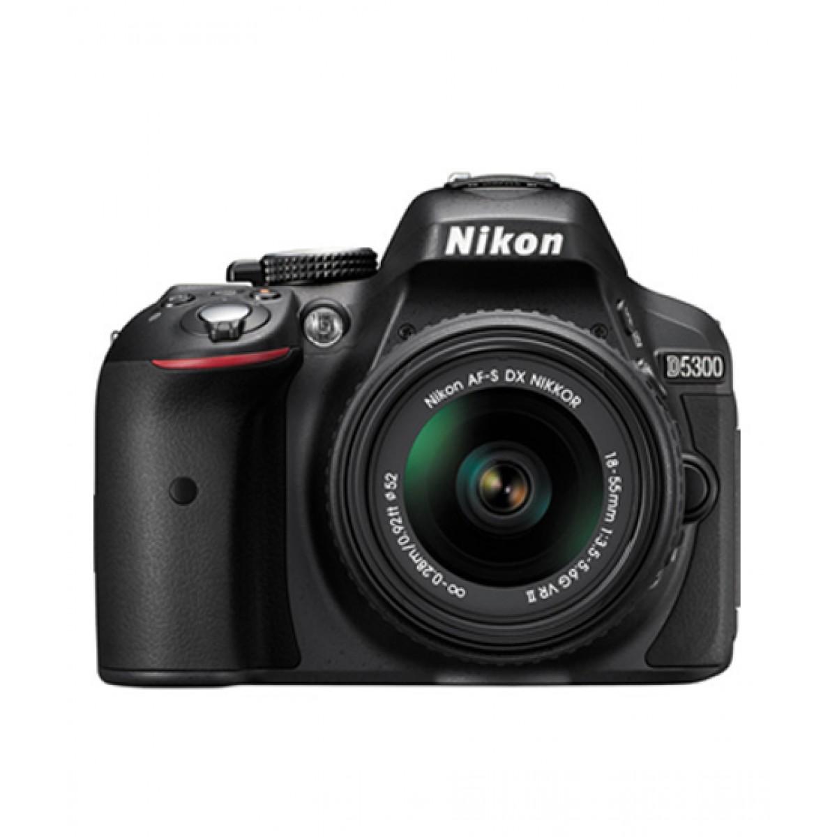 Nikon D5300 DSLR Camera with 18-55mm VR Lens - Official Warranty