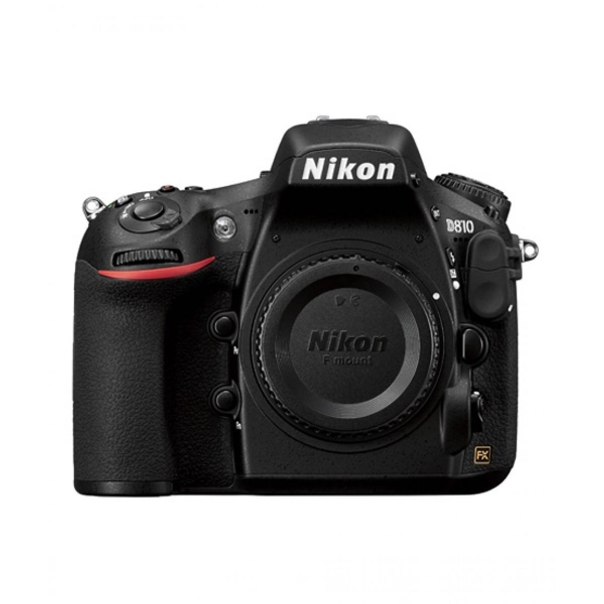 Nikon D810 DSLR Camera (Body Only) - Official Warranty