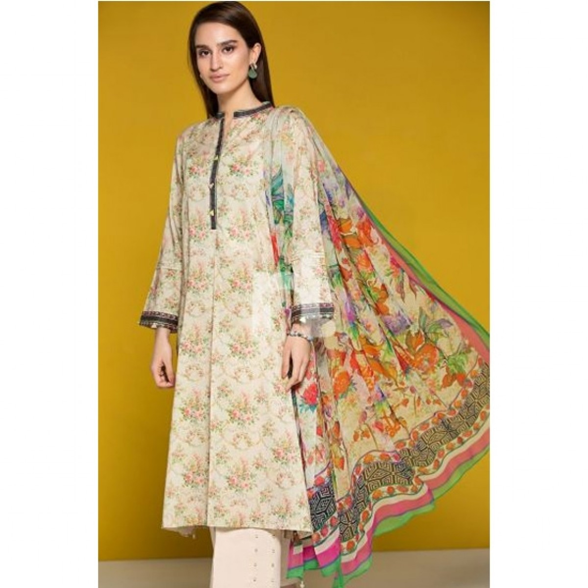 06b63ad8c0 Nishat Linen Digital Printed Lawn 2 Piece Price in Pakistan | Buy Nishat  Linen Embroidered Lawn 2 Piece Beige (41906072) | iShopping.pk