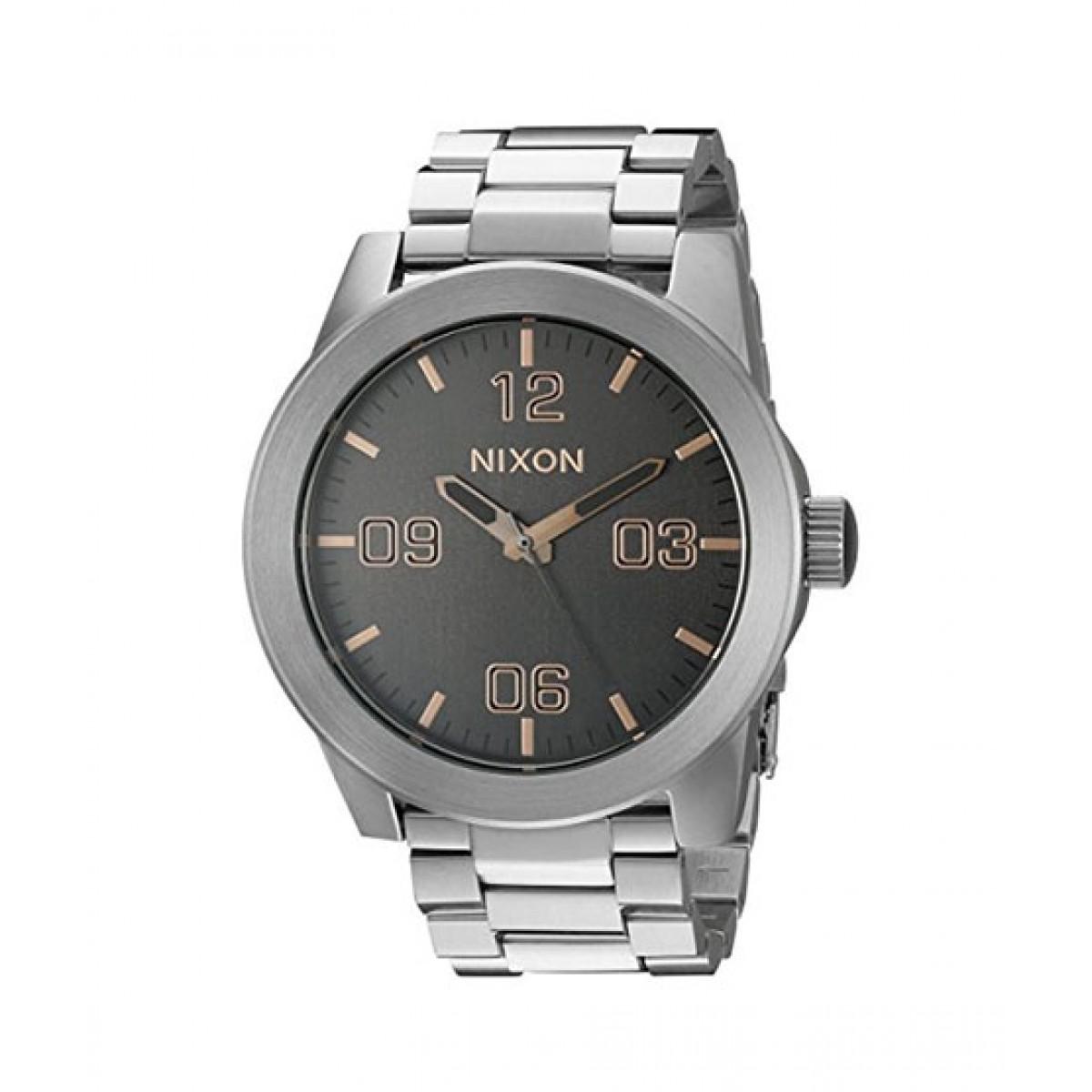 Nixon Corporal SS Men's Watch Silver (A3462064-00)