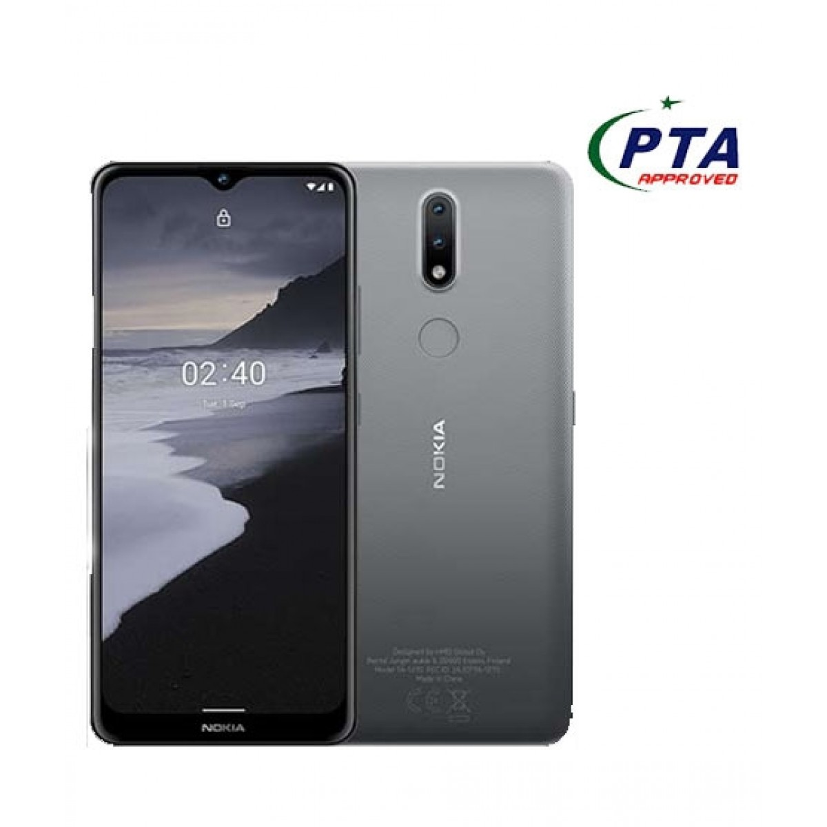 Nokia 2.4 64GB 3GB Ram Dual Sim Charcoal