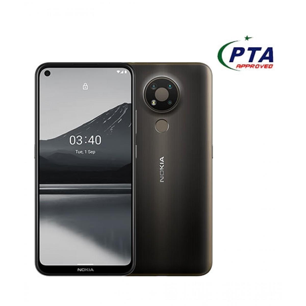 Nokia 3.4 64GB 4GB Dual Sim Charcoal