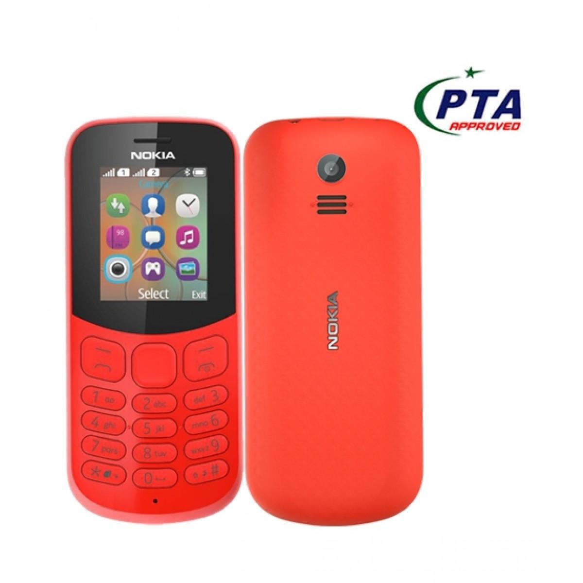 online store 3db81 8fd10 Nokia 130 2017 Dual Sim Red