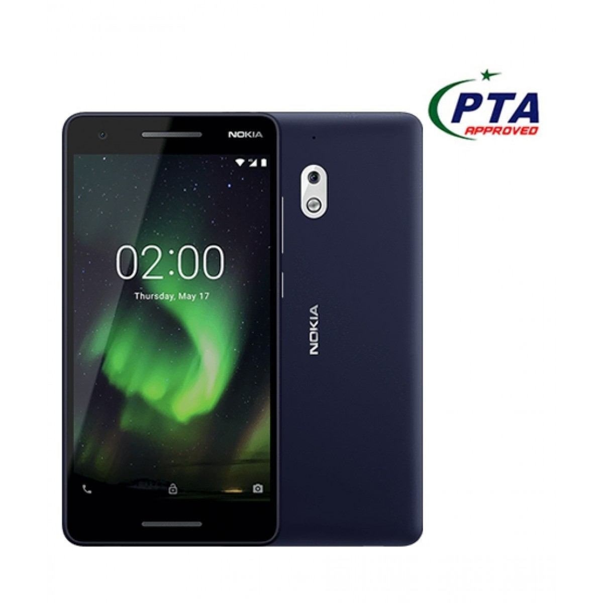Nokia 2.1 8GB Dual Sim Blue/Silver - Official Warranty
