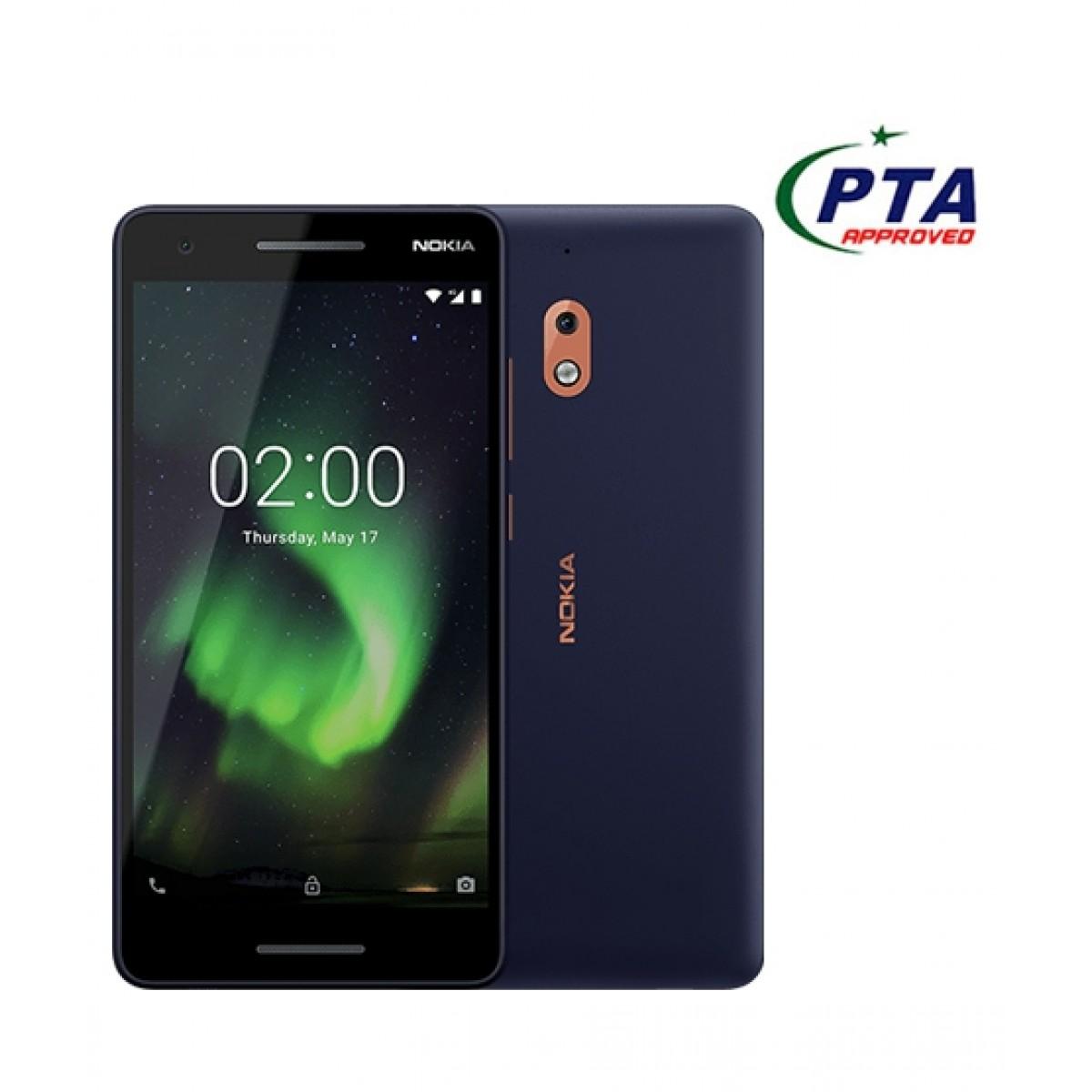 Nokia 2.1 8GB Dual Sim Blue/Copper