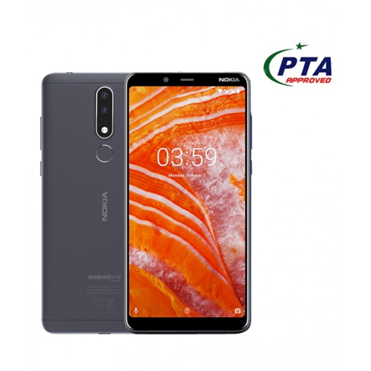 Nokia 3.1 Plus 32GB Dual Sim Gray