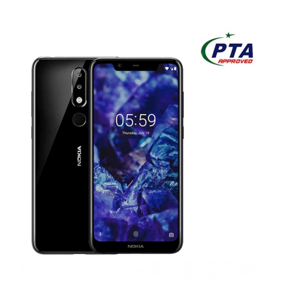Nokia 5.1 Plus 32GB 3GB RAM Dual Sim Night Black