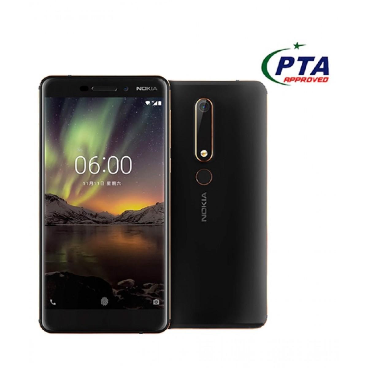 Nokia 6.1 64GB Dual Sim Black/Copper - Official Warranty