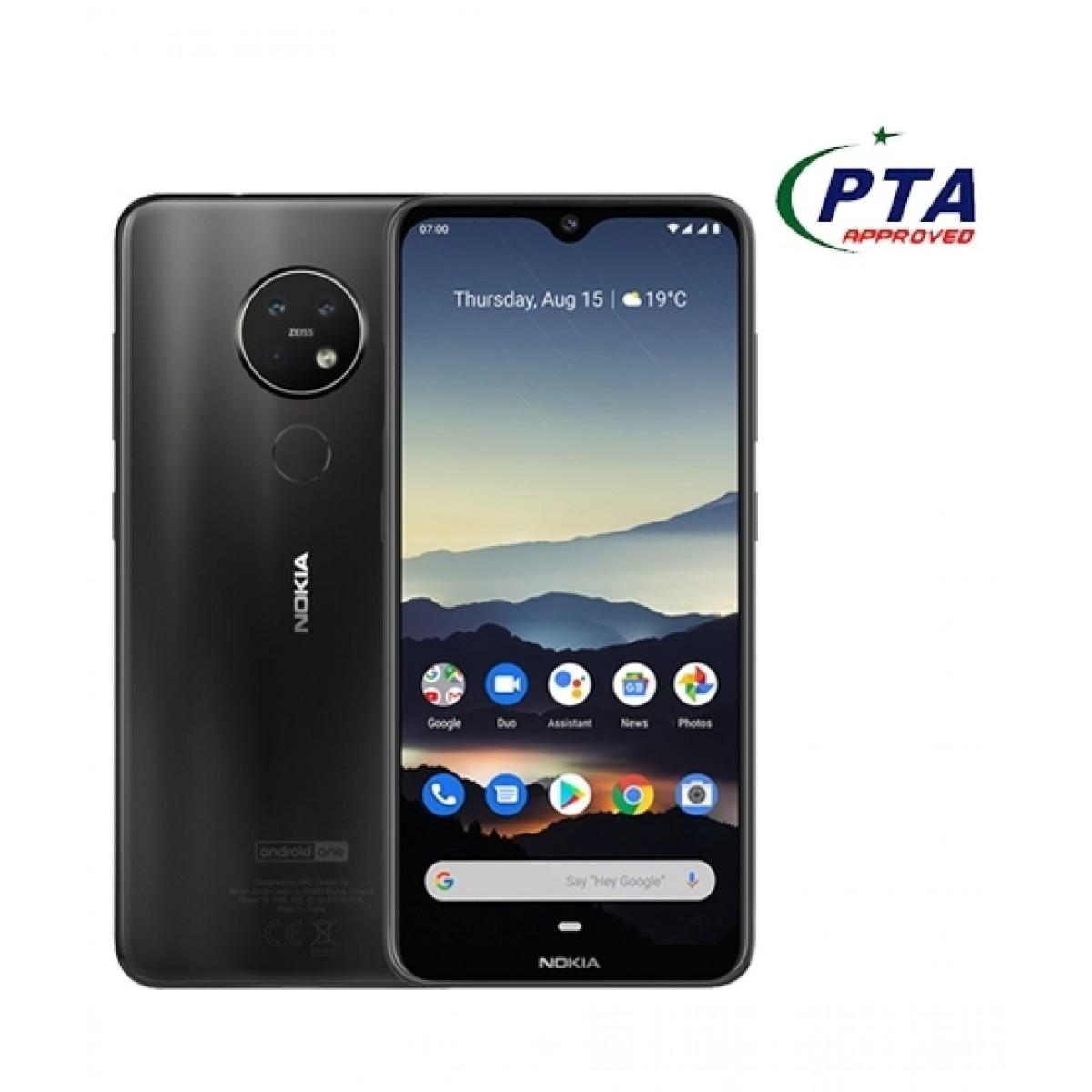 Nokia 7.2 128GB 6GB RAM Dual Sim Charcoal