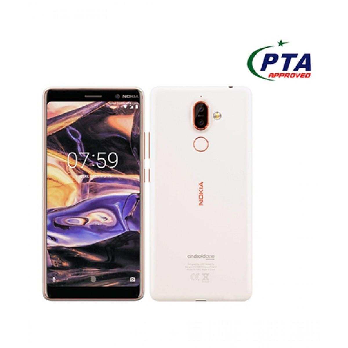 Nokia 7 Plus 64GB 4GB Dual Sim White/Copper