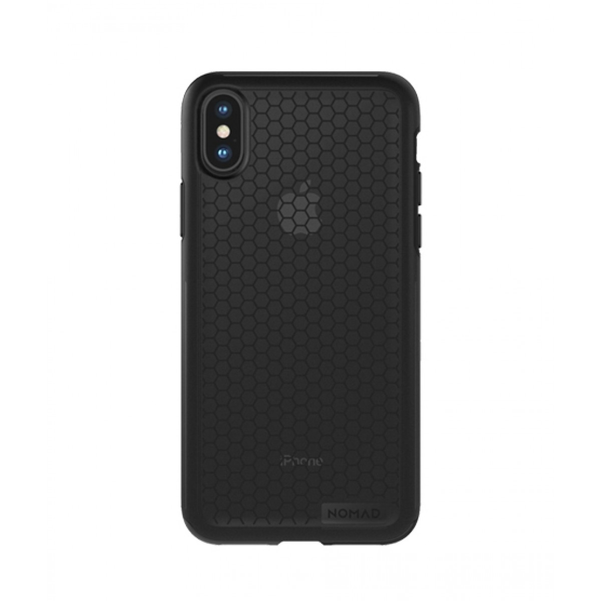 buy online 65689 e87b9 Nomad Hex Black Case For iPhone X/XS