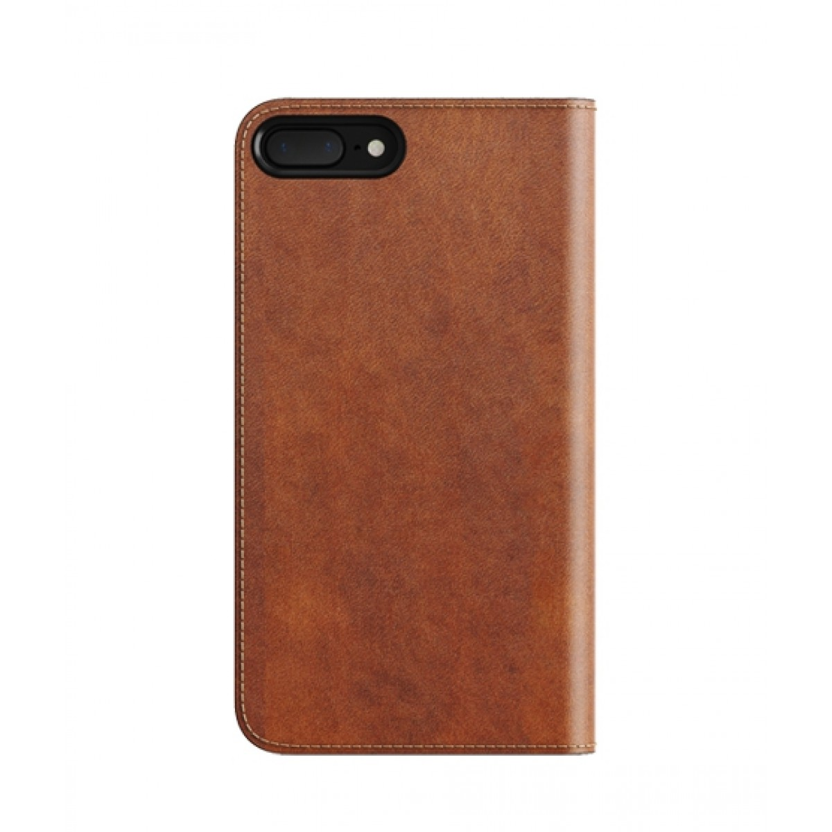 competitive price b4a95 f38d7 Nomad Leather Folio Rustic Brown Case For iPhone 8 Plus