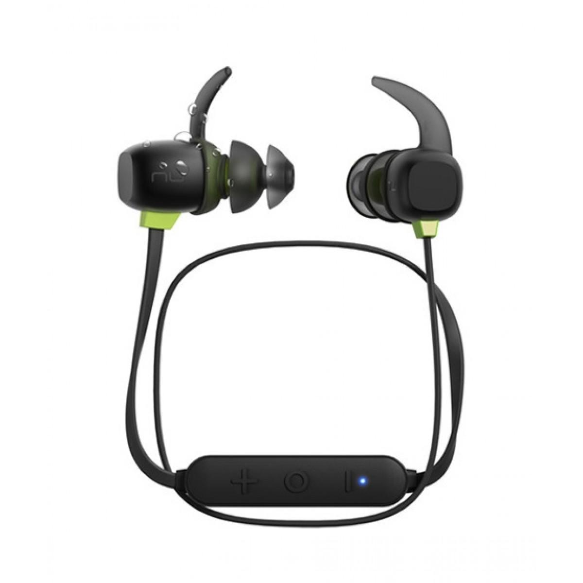 NuForce BE Sport4 Wireless In-Ear Headphones Black