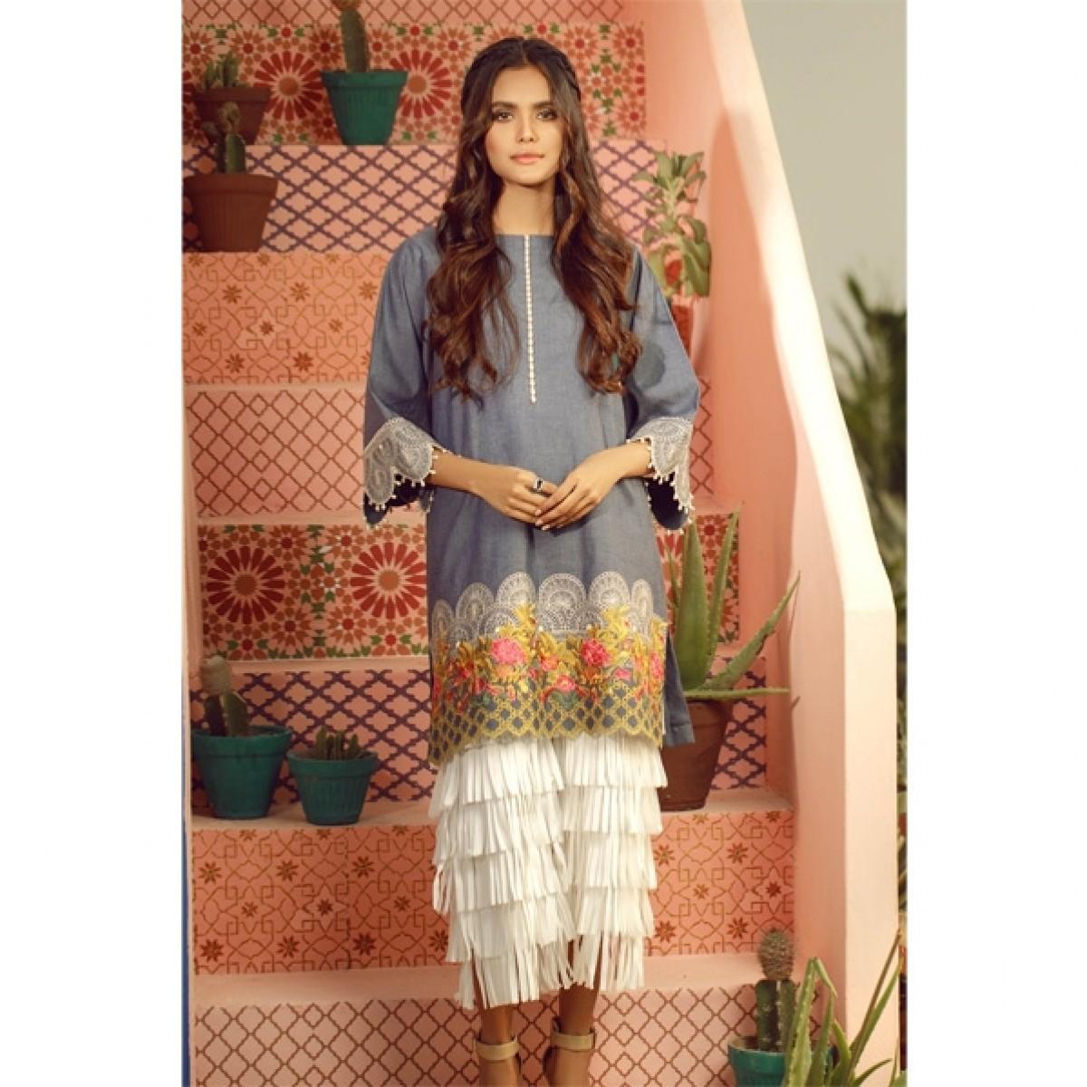Al Karam Spring Summer Collection 2020 1 Piece (SS-30-20-Blue)
