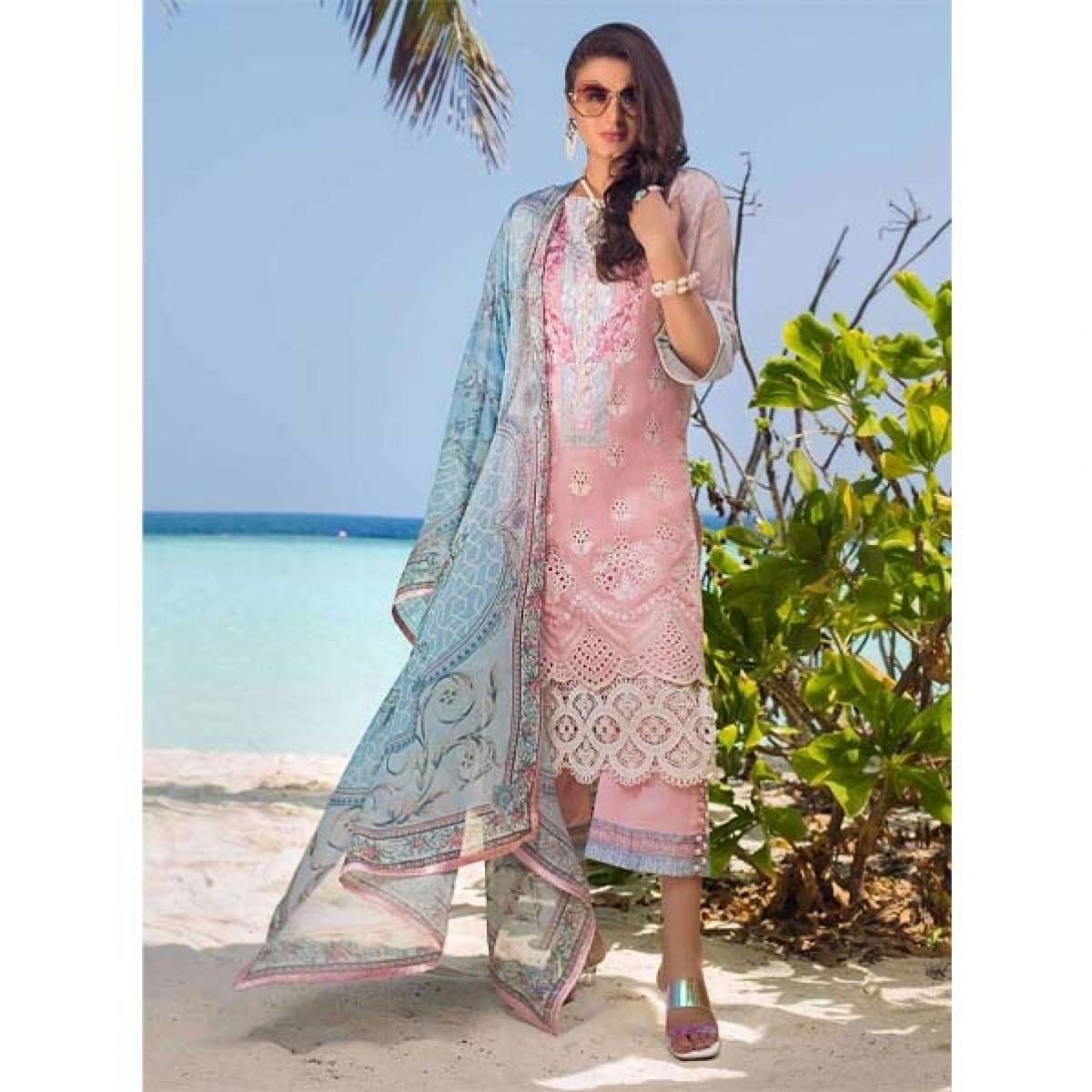 Zainab Chottani Luxury Lawn Collection 2020 3 Piece Serene Vibe (09A)