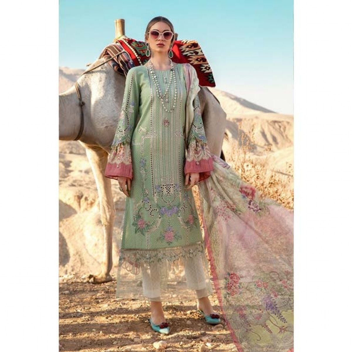 Maria.B. Lawn Collection 2020 3 Piece (13A)