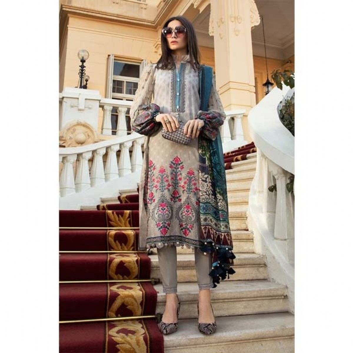 Maria.B. Lawn Collection 2020 3 Piece (7B)