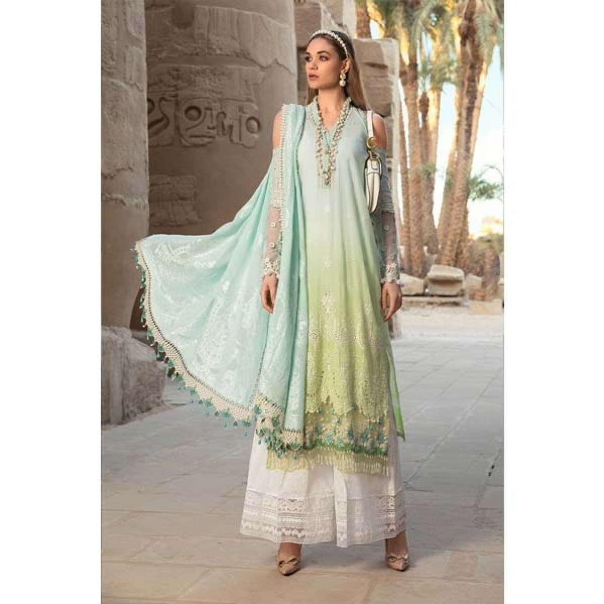 Maria.B. Lawn Collection 2020 3 Piece (1B)