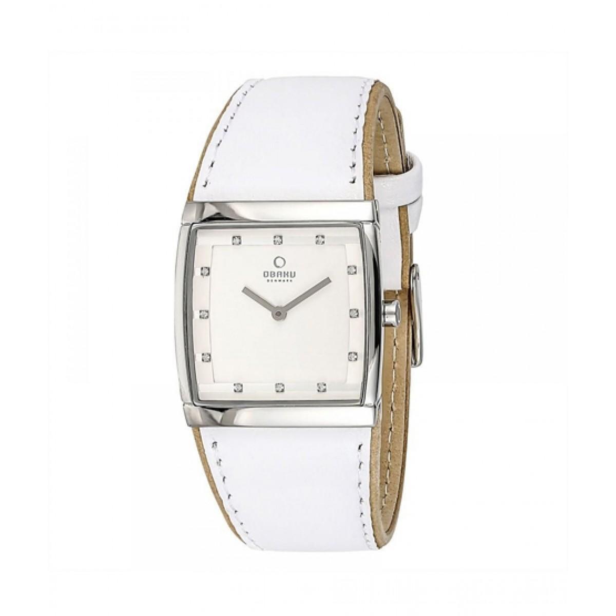 Obaku Classic Women's Watch White (V102LCCRW)
