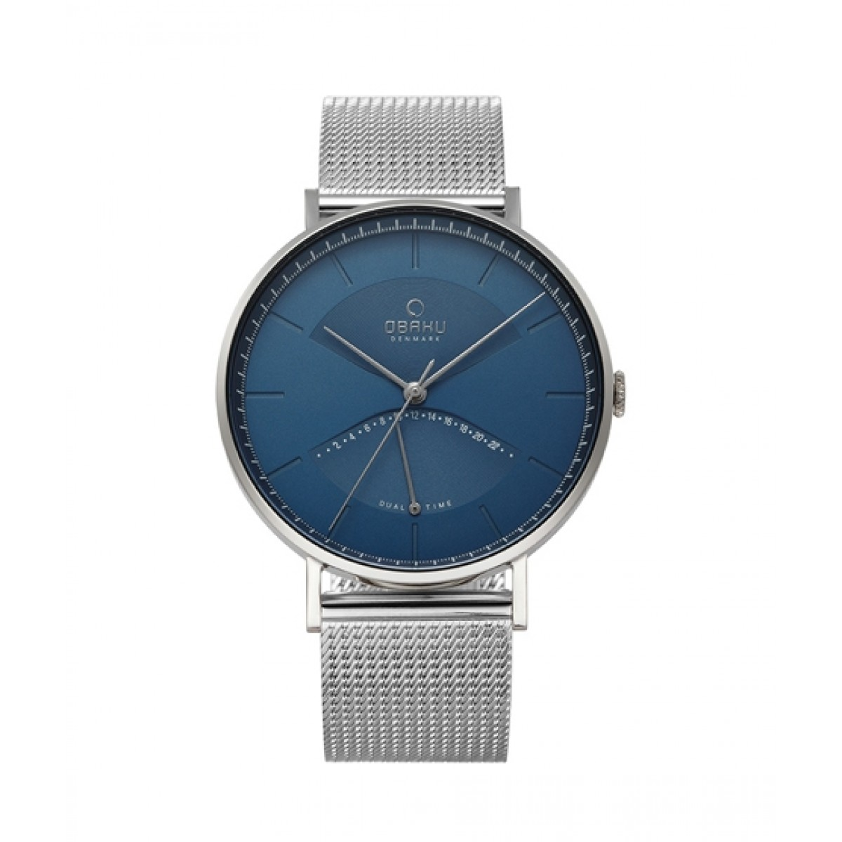 Obaku Elm Men's Watch Cyan (V213GUCLMC)