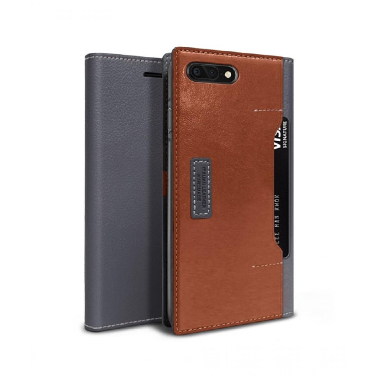 timeless design e1e07 7a96b Obliq K3 Wallet Black Gray Brown Case For iPhone 8 Plus
