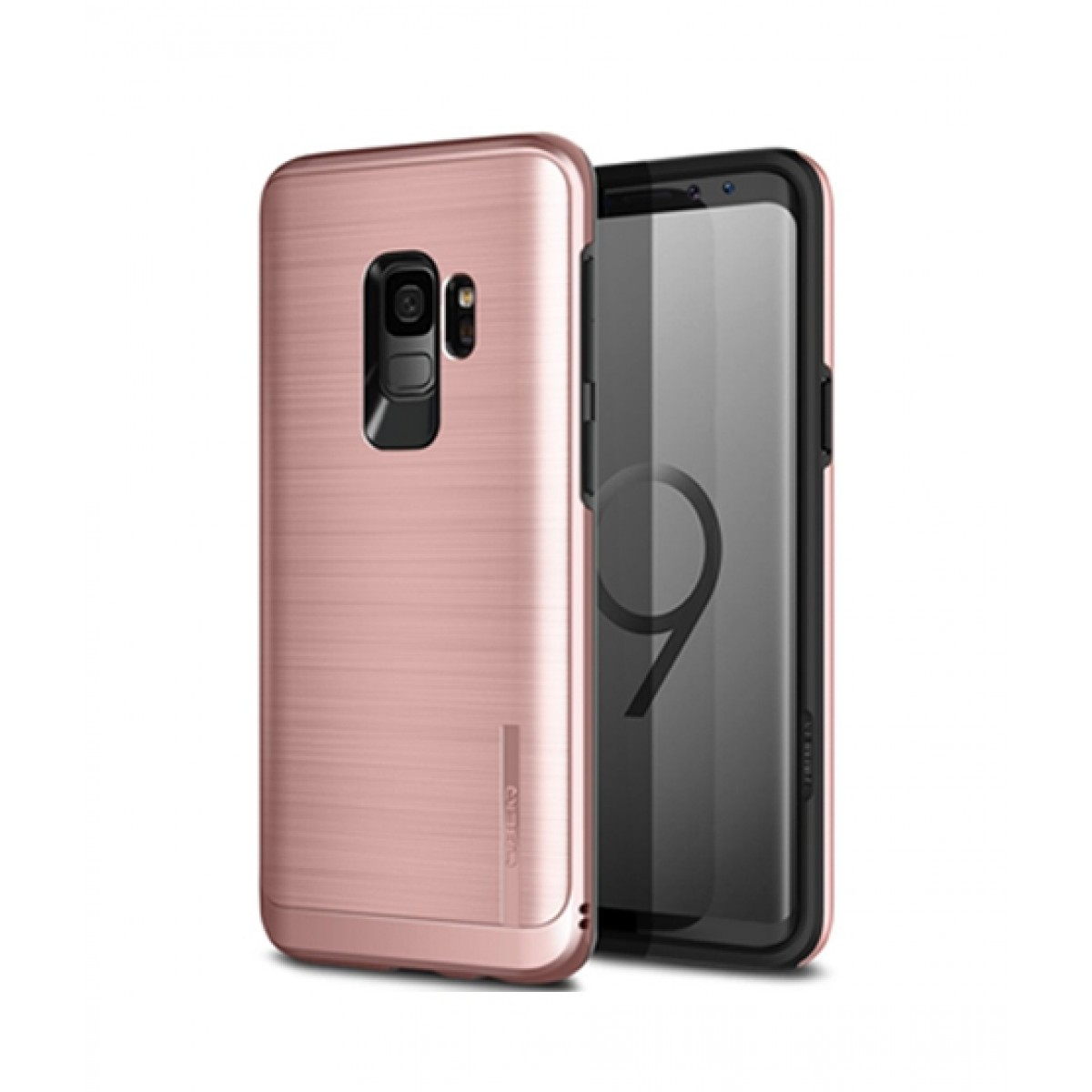 best sneakers 672d8 a997e Obliq Slim Meta Rose Gold Case For Galaxy S9