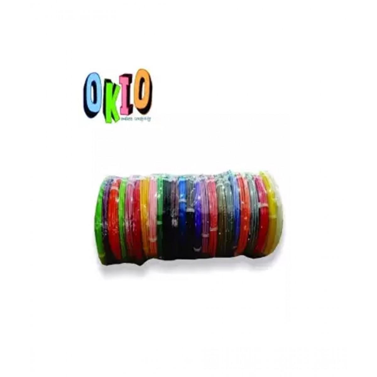 Okio 3D 24 Colours Pen Filaments