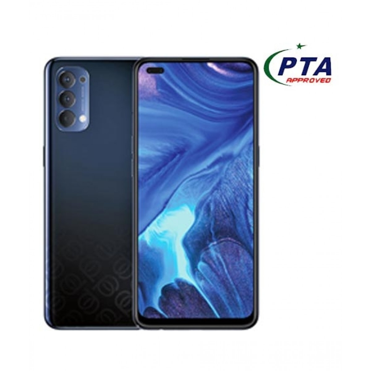 Oppo Reno 4 8GB 128GB Dual Sim Space Black