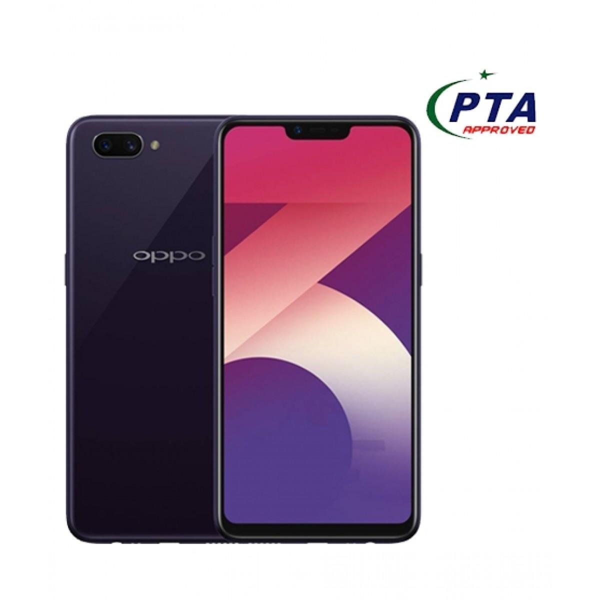Oppo A3s 16GB Dual Sim Dark Purple