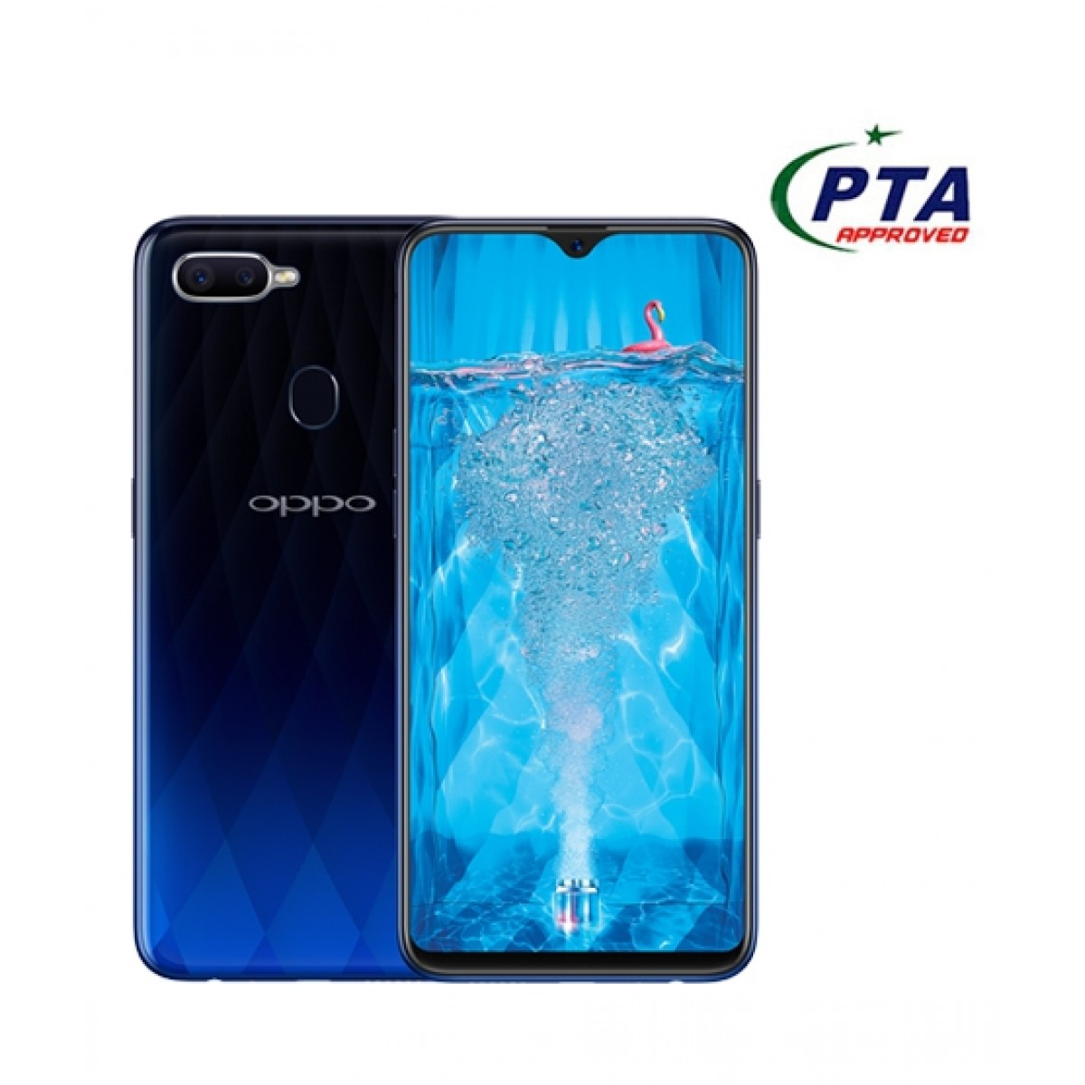 Oppo F9 64GB 4GB Dual Sim Twilight Blue