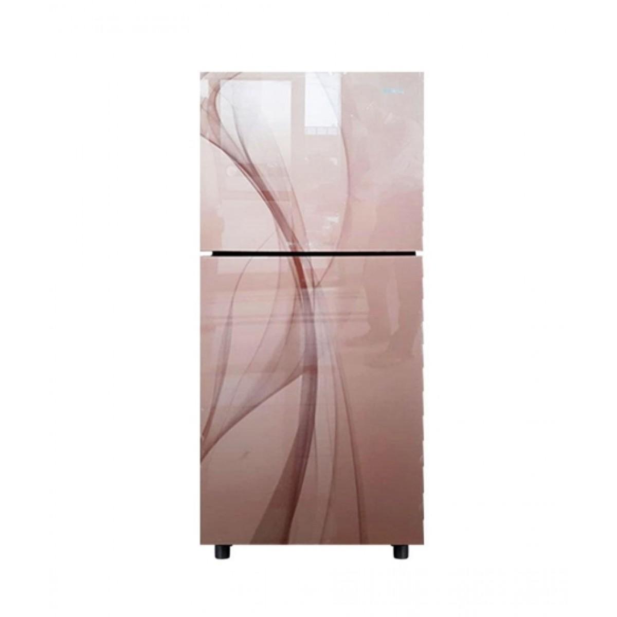 Orient Crystal 200 Freezer-on-Top Refrigerator 7 Cu Ft Glaze Golden