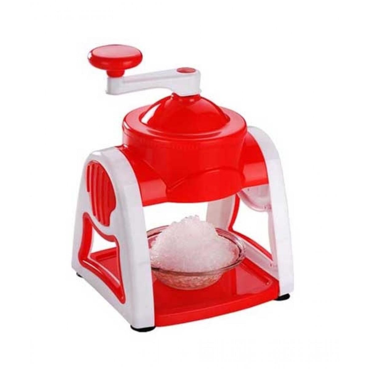ORO Store Ice Crusher & Gola Maker Red