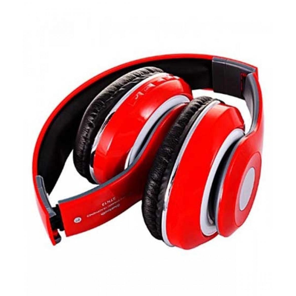 Wireless Bluetooth Headphones Red Price In Pakistan Buy Oro Store Bluetooth Headphones Red Stn 13 Ishopping Pk