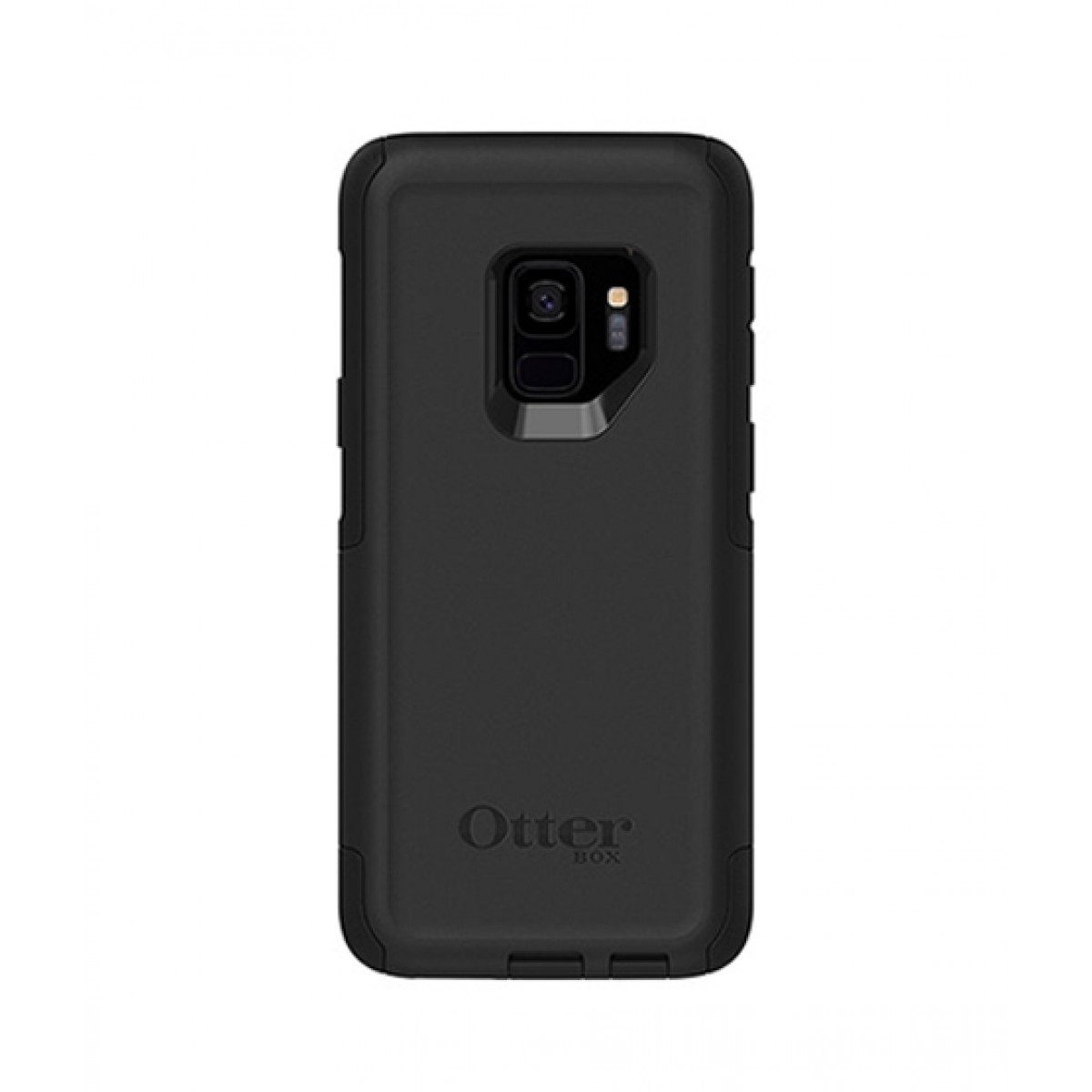 best loved b16be 74b87 OtterBox Commuter Series Black Case For Galaxy S9