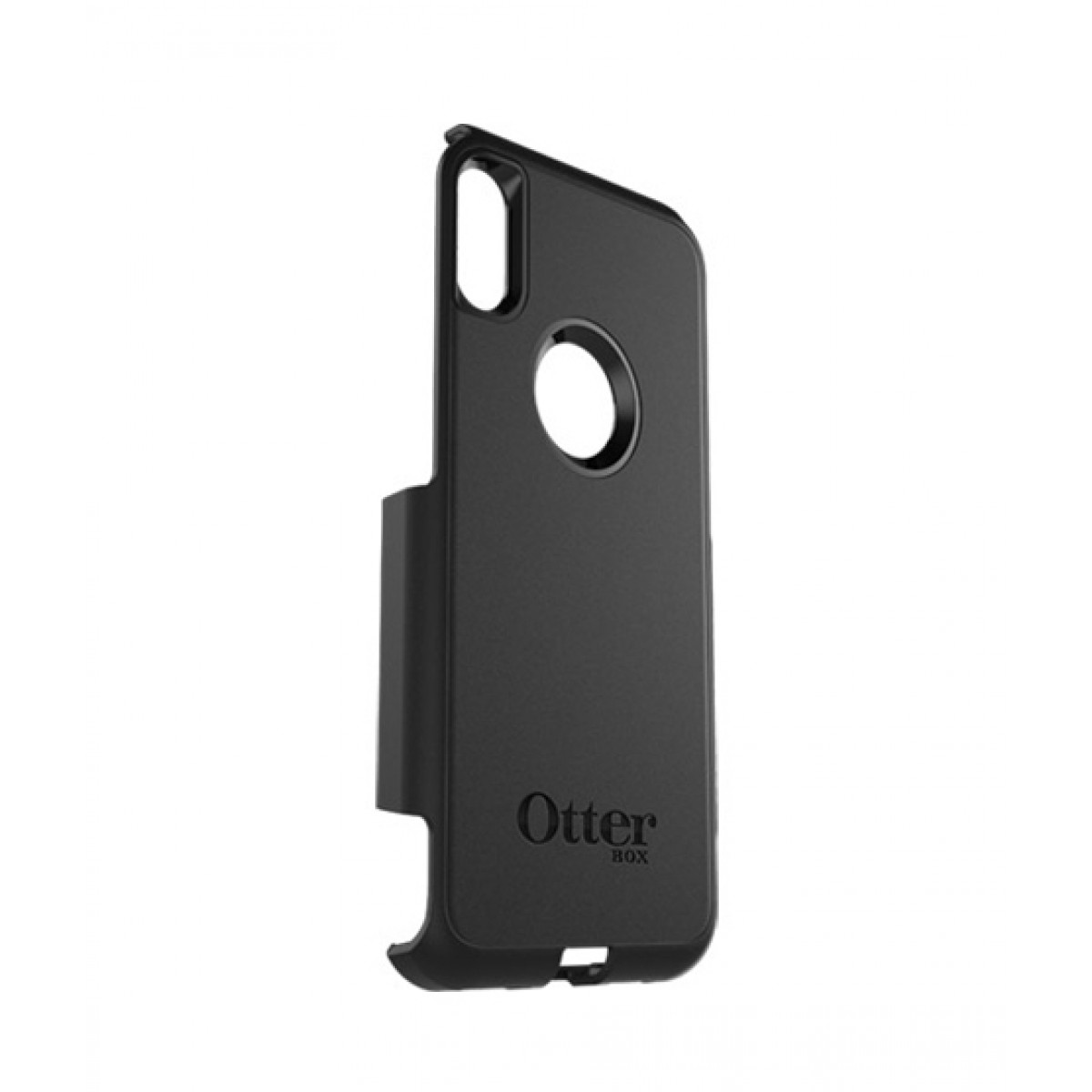 huge selection of 486fe abf7f OtterBox Commuter Series Shell Black Case For iPhone X/XS