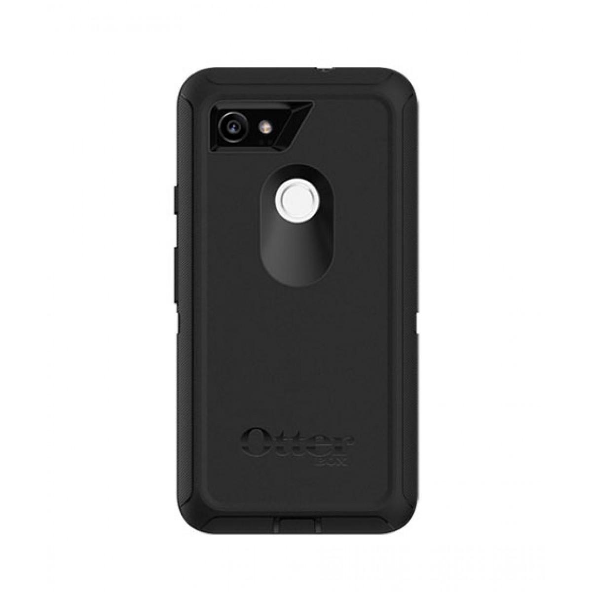newest 30704 c4abb OtterBox Defender Series Black Case For Google Pixel 2 XL