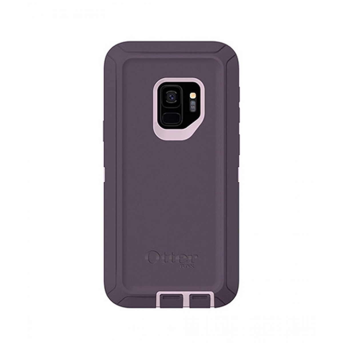 the best attitude 69576 9c624 OtterBox Defender Series Screenless Purple Nebula Case For Galaxy S9