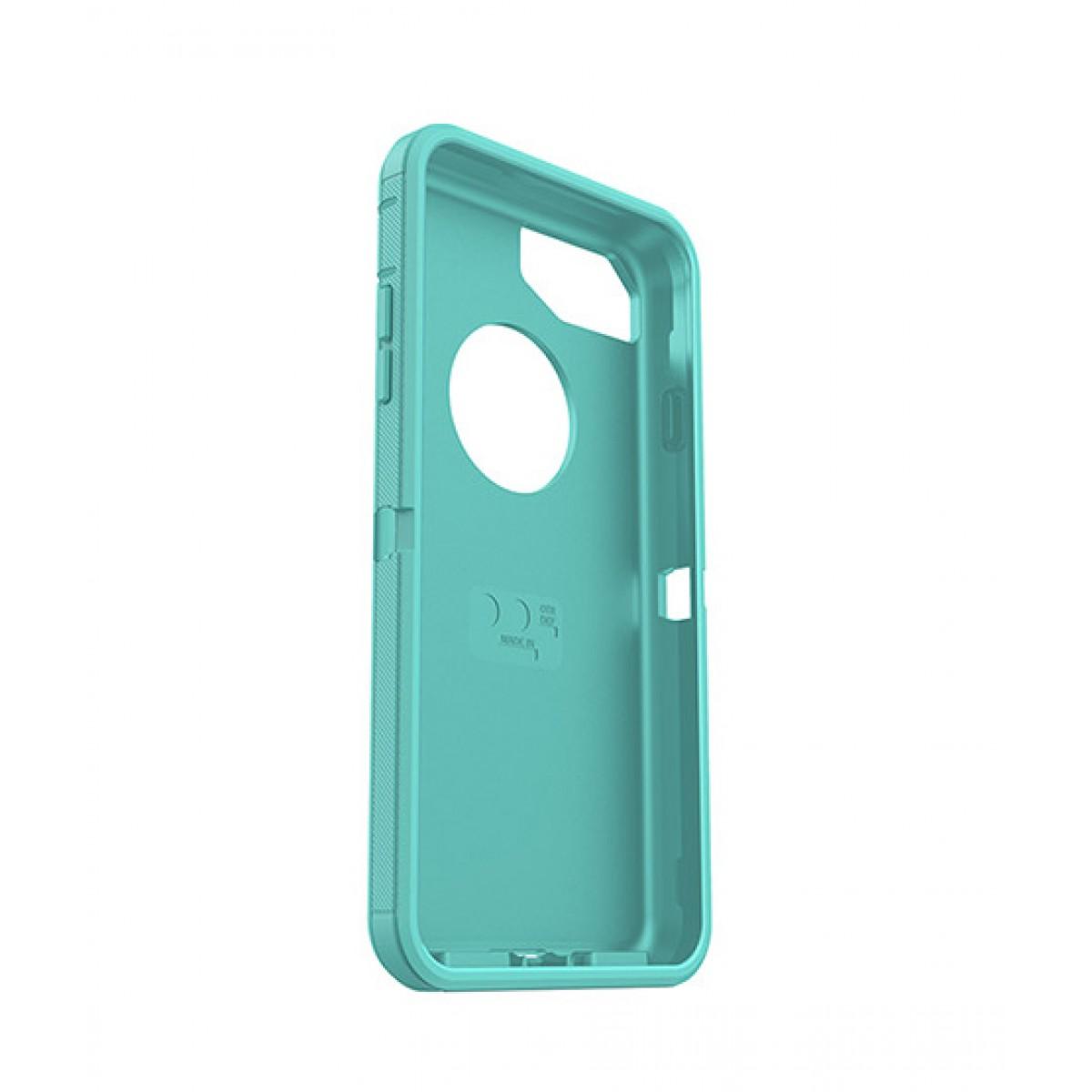 best website 1e3a9 bb712 OtterBox Defender Series Slipcover Case Aqua Mint for iPhone 7