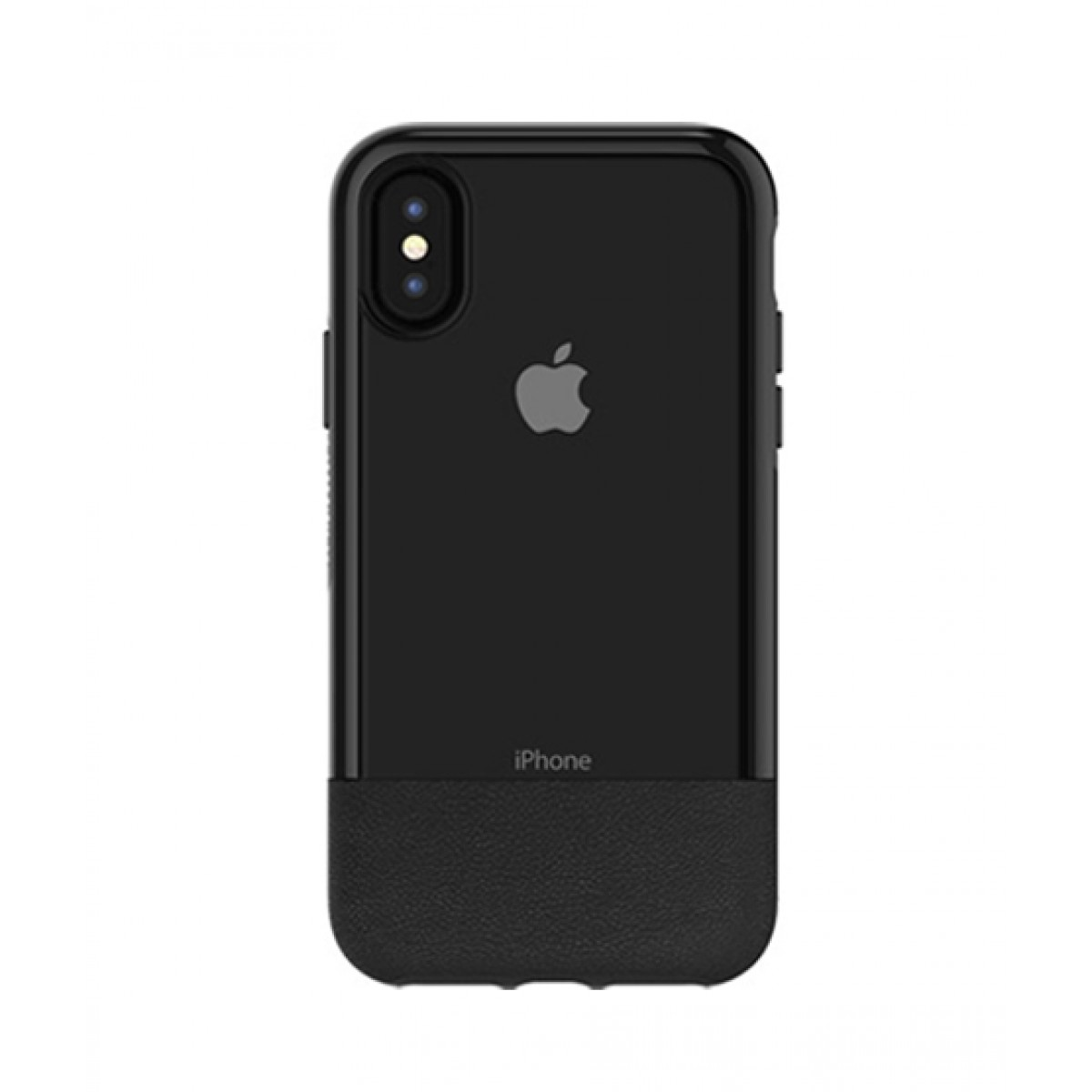the best attitude 0d014 1f1ce OtterBox Statement Series Black Case For iPhone X/XS