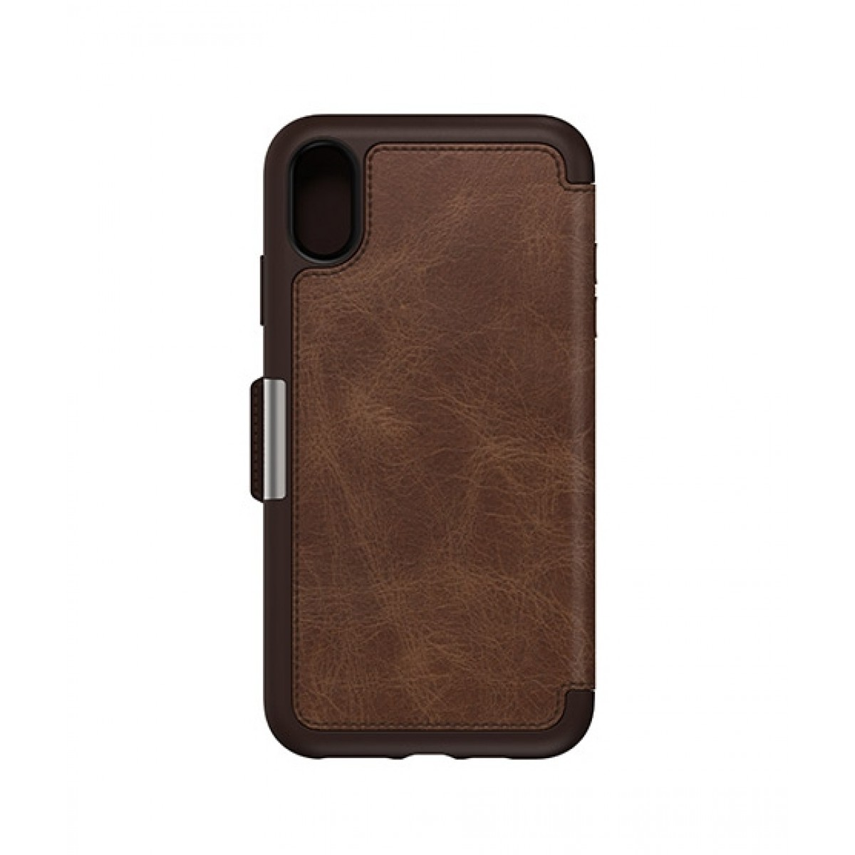new concept dfe29 03baf OtterBox Strada Series Folio Espresso Case For iPhone XS Max